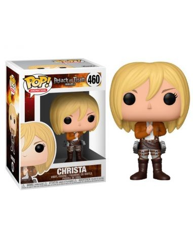 Pop Christa. Ataque a los titanes