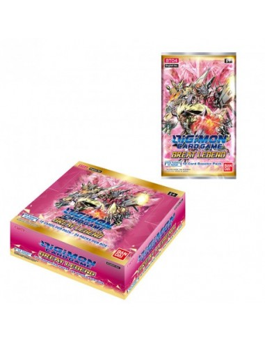 PREORDER Great Legends Booster Box...