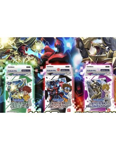 PREORDER Digimon 3 Starter Decks (May)