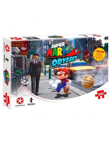 Puzzle Super Mario Odyssey. New Donk...