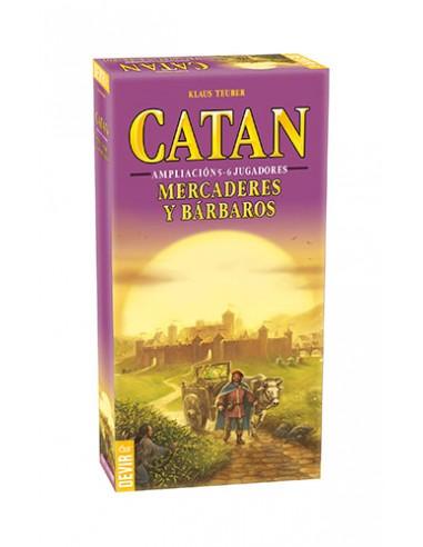Catan: Mercaderes y Barbaros...