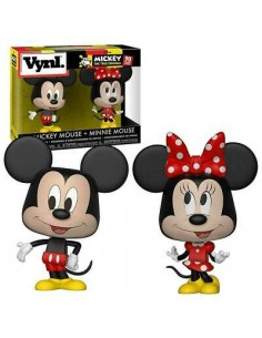 Mickey Mouse + Minnie...