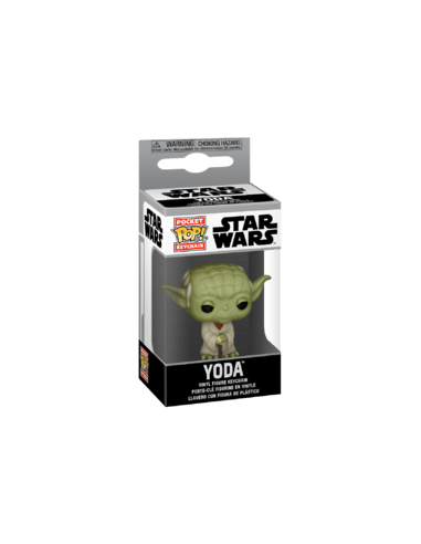 Keychain Pop Yoda. Star Wars