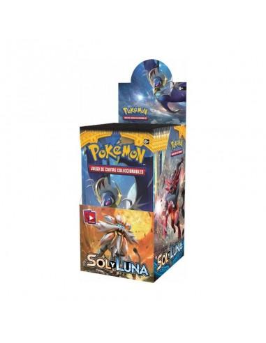 Pokemon Tcg. Sol y Luna. Sobre (10...