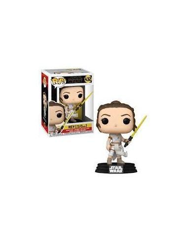 Rey yellow Lightsaber. Star Wars