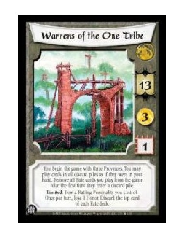 Warrens of the One Tribe