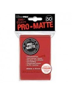Pro Matte Red Sleeves (50)