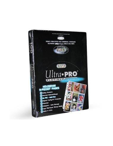 Ultra Pro Platinum 9-Pocket Pages (100)