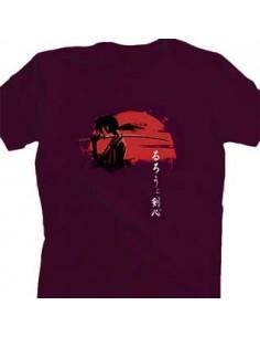 Camiseta Kenshin Samurai...