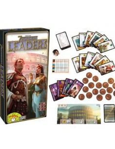 7 Wonders. Expansión Leaders