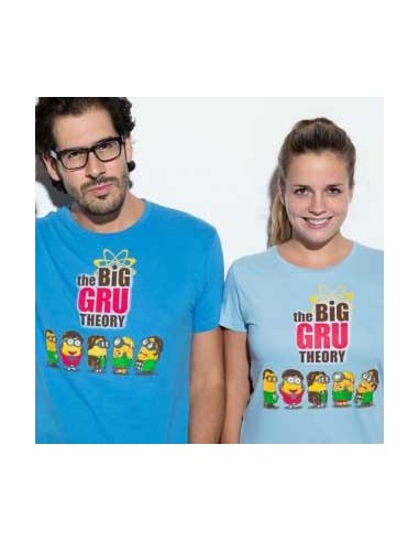 Camiseta The Big Gru Theory